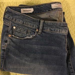 Dark Torrid Boyfriend Skinny Jeans
